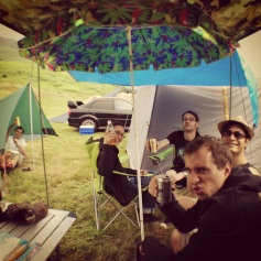 Caravan Moon Camping