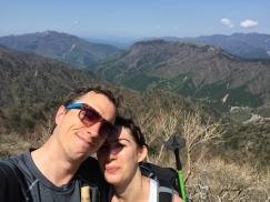 On top of Mt. Tsurugi