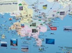 Shikoku Sightseeing Map