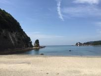 Sukuraham Beach with sunny weather