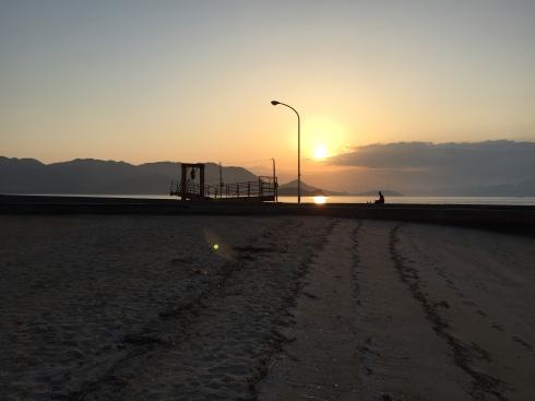 Sunset Beach Ikuchi Island