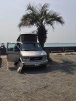 klaus the camper van in Shimoda